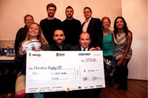HR Fundraiser Cheque