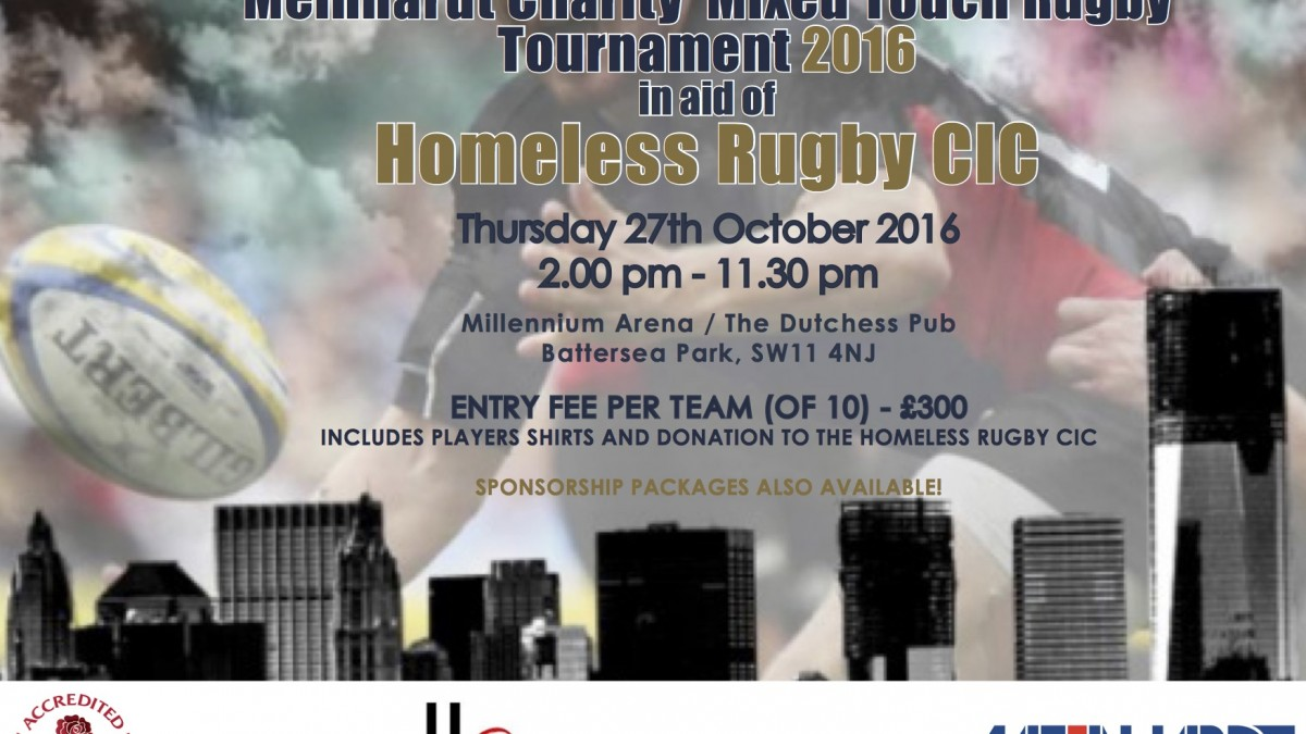 Inaugural Meinhardt Charity Mixed Touch Rugby Tournament