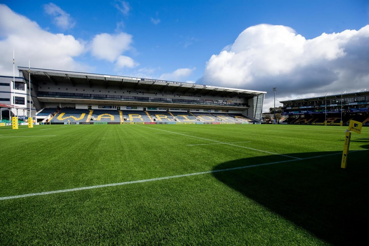 General View - Rogan Thomson/JMP - 04/03/2017 - RUGBY UNION - Sixways Stadium - Worcester, England - Worcester Warriors v Bristol Rugby - Aviva Premiership.