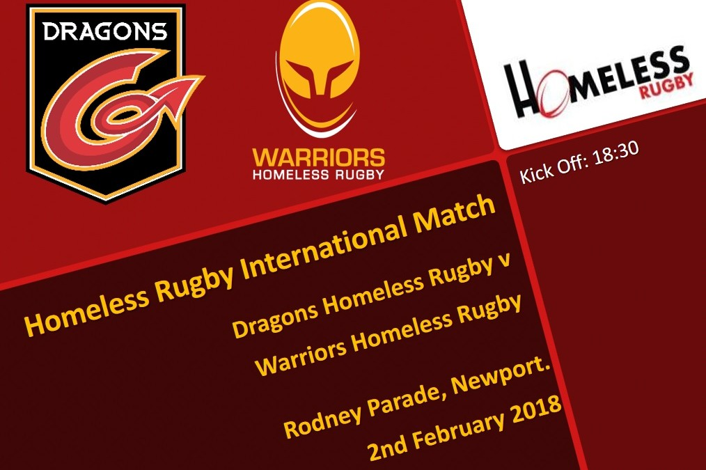 Dragons Homeless Rugby v Warriors Homeless Rugby