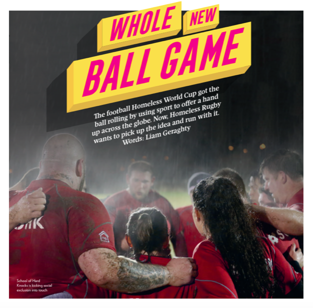 Big thanks to the Big Issue!!