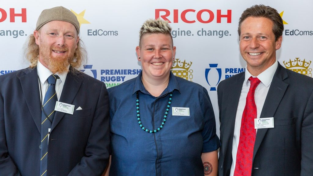 Homeless Rugby players included as Minister for Sport inspired by Premiership Rugby Community Awards