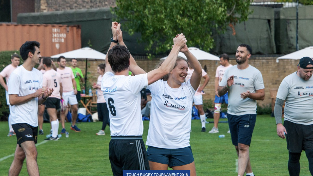 Meinhardt Charity Touch Rugby tournament raises over £8,000